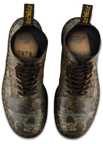 Dr. Martens Dadd 1460 Pascal Cristal Suede Schnürstiefel