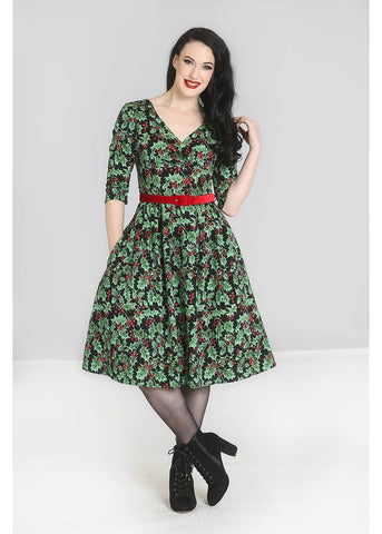 Hell Bunny Holly Berry 50's Swingkleid