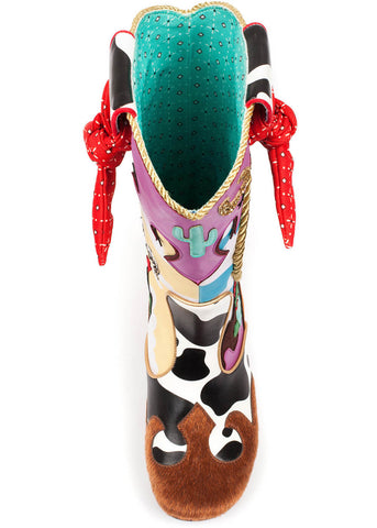 Irregular Choice Toy Story Ride Like The Wind Stiefel