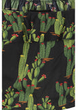Collectif Marietta Cactusland 70's Top Schwarz