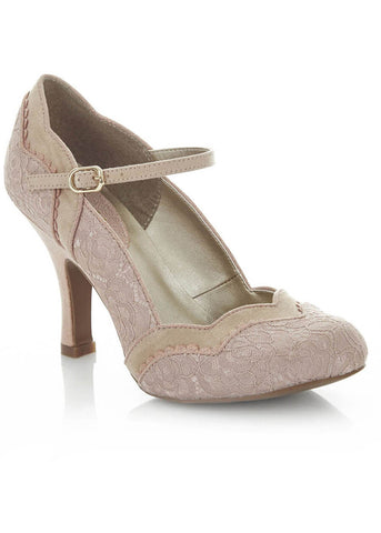 Ruby Shoo Imogen Pumps Rosa