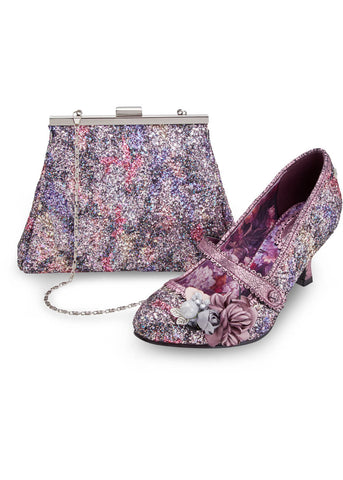 Joe Browns Couture Marietta Glitzerpumps Rosa