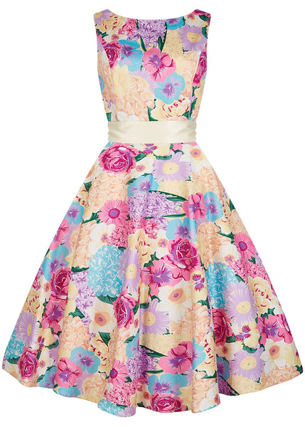 Collectif Margaret English Garden 50er Swingkleid