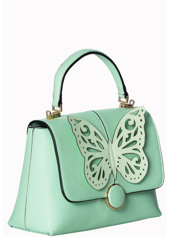 Banned Papilio Butterfly Handtasche Mint