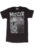 Sourpuss Herren Monster Mailorder T-Shirt Schwarz