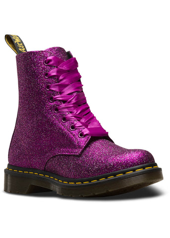Dr. Martens 1460 Pascal Glitter Schnürstiefel Lila