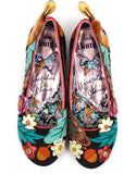 Irregular Choice Disney Bambi Sweet Little Prince Ballerinas Multi