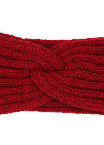 Collectif Lexy Gestricktes 50's Haarband Rot