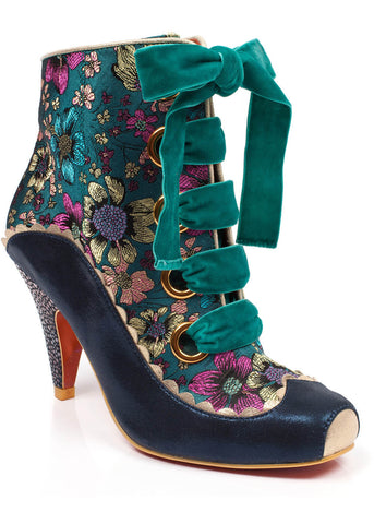 Poetic Licence Perinnial Passion Stiefel Teal