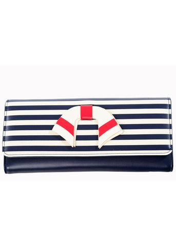 Banned Vintage Nautical Portemonnaie Navy