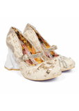 Irregular Choice I Love You Brautschuhe Gold