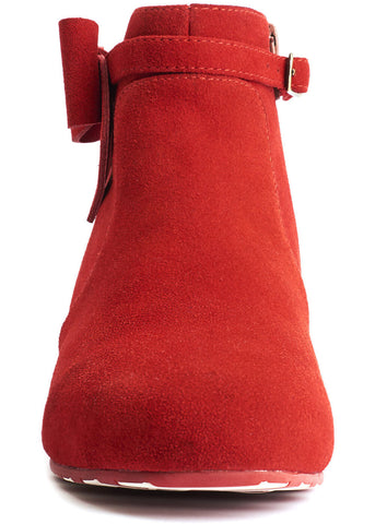 Lola Ramona Alice Red Hot 60's Stiefeletten Rot