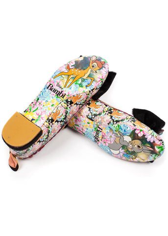 Irregular Choice Disney Bambi Forest Friends Ballerinas Multi