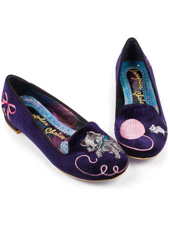 Irregular Choice The Cats Miauw Ballerinas Lila