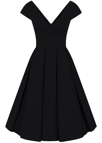 Collectif Beatrice 50's Swingkleid Navy