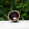 Glazed Pottery Tea Cup (Black)