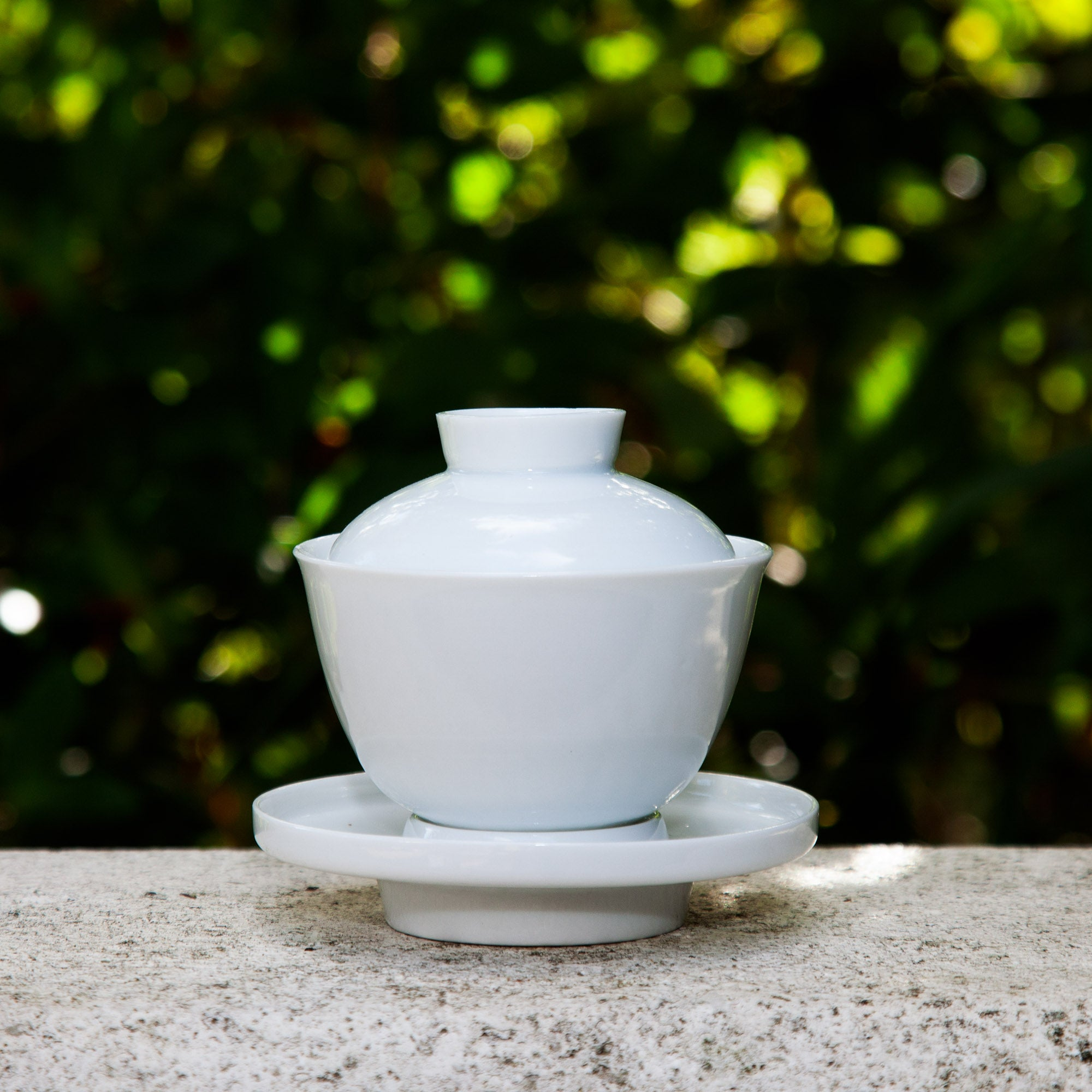 Wood Kiln Porcelain Gaiwan