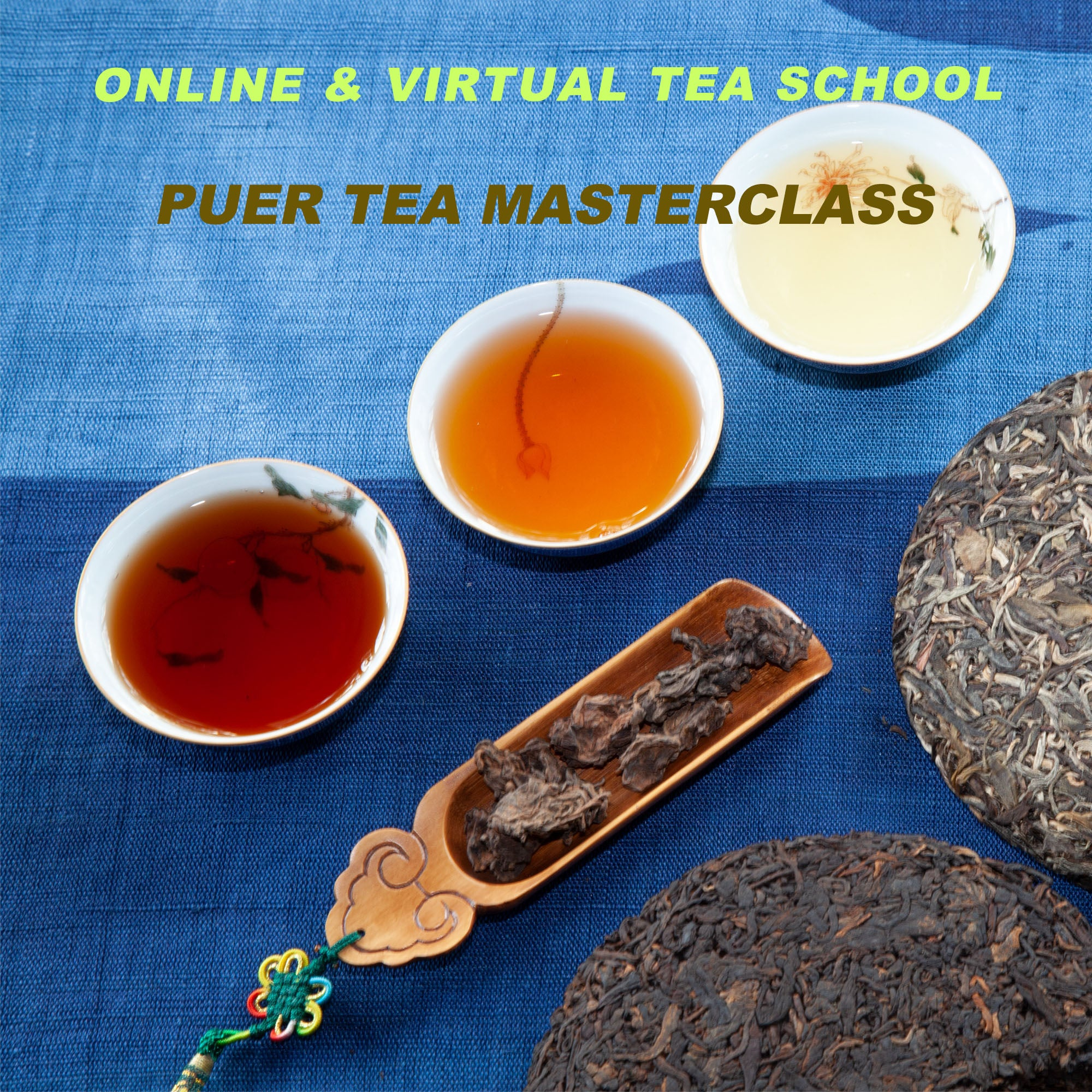 VIRTUAL PUER TEA MASTERCLASS