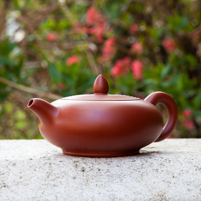 """Spring Raindrop"" Chaozhou Teapot"