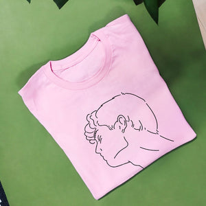 Loverboy T-Shirt pink - wanabeme