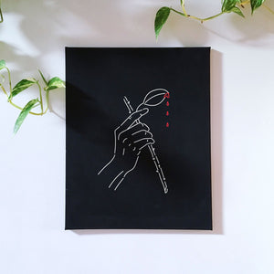 Pretty hurts wall canvas - wanabeme
