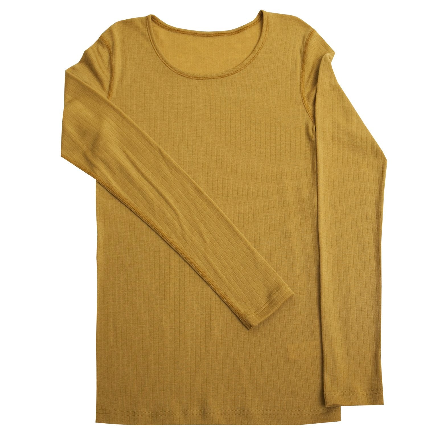 Bluza femei Joha lână merinos - Basic Curry Yellow-Joha-HipHip.ro