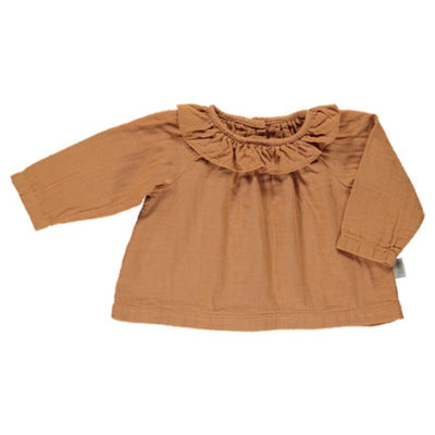 Bluza Poudre Organic din muselina - Cashew-Poudre Organic-HipHip.ro
