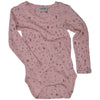 Body Papfar lână merinos - Splash Misty Rose-Papfar-HipHip.ro
