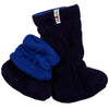 Botosei ManyMonths Winter Booties pt babywearing - Jewel Blue/Moonlight Blue-ManyMonths-HipHip.ro