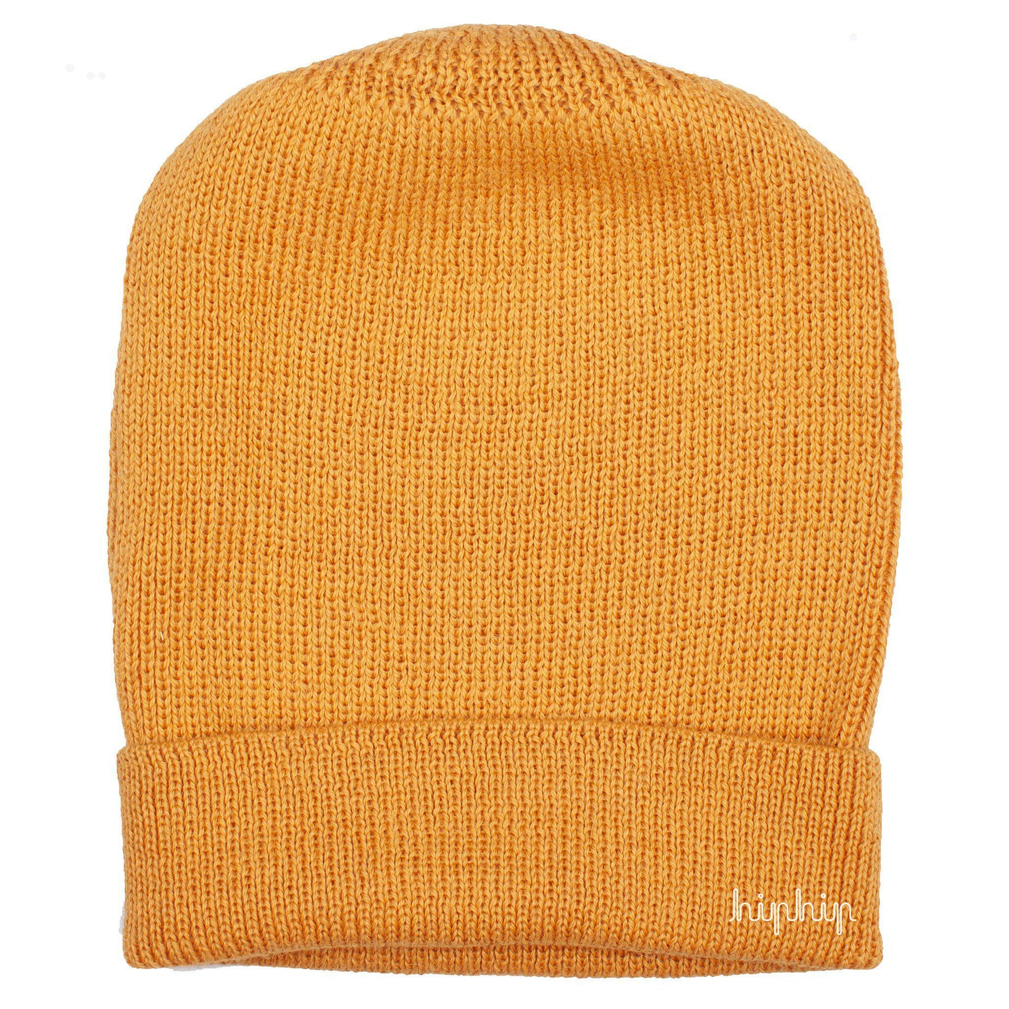Caciula adulti De Colores baby alpaca Classic Rib - Corn Yellow-De Colores-HipHip.ro