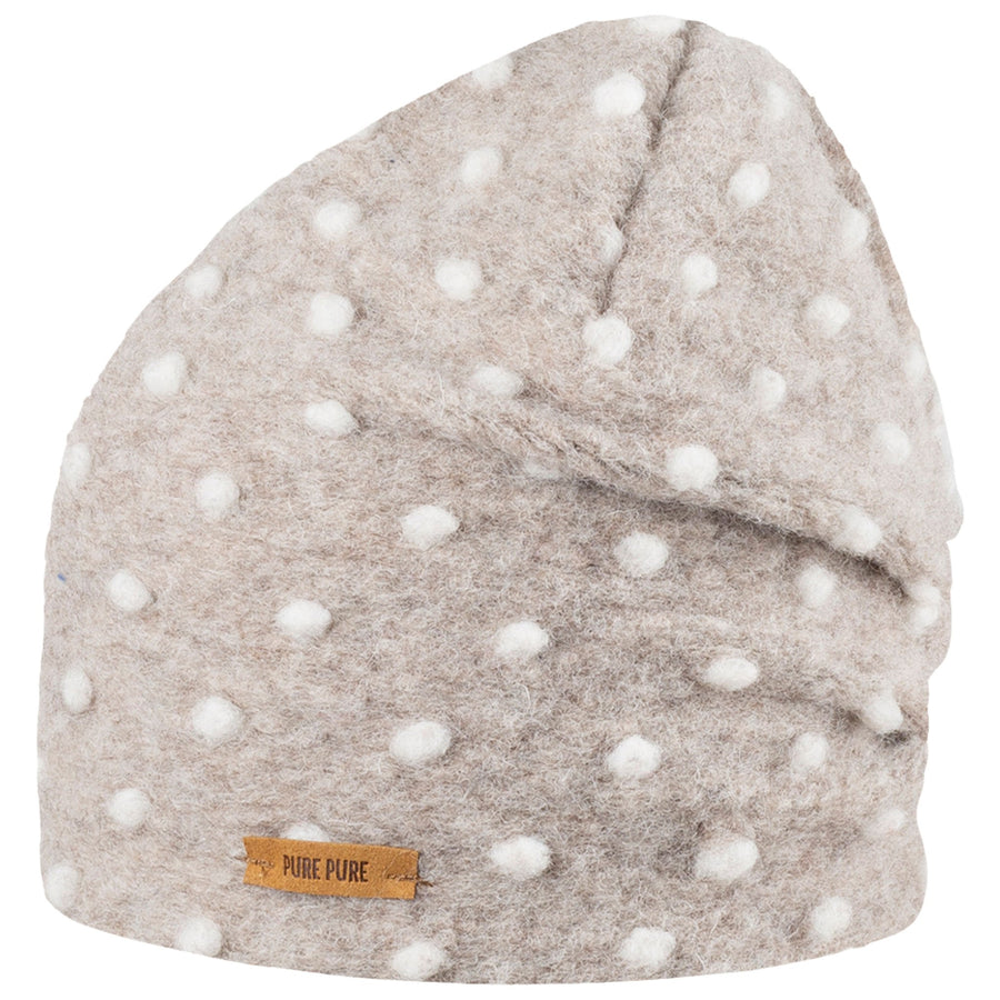 Caciula Pure Pure lână organica boiled wool (long beanie) - Cashmere-Pure Pure-HipHip.ro