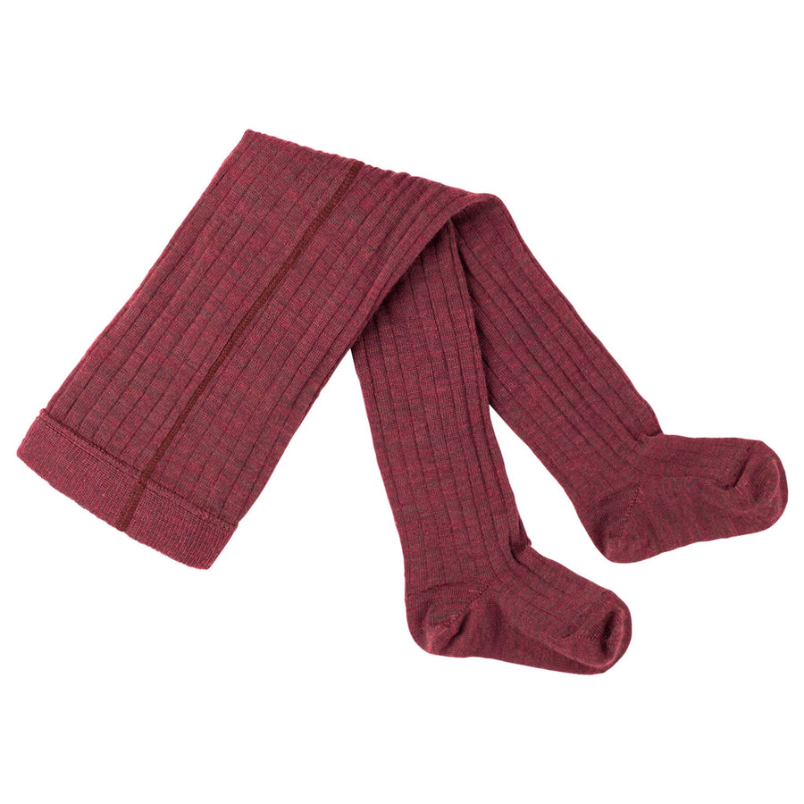 Dres Pure Pure lână merinos si bumbac - Wine Red-Pure Pure-HipHip.ro