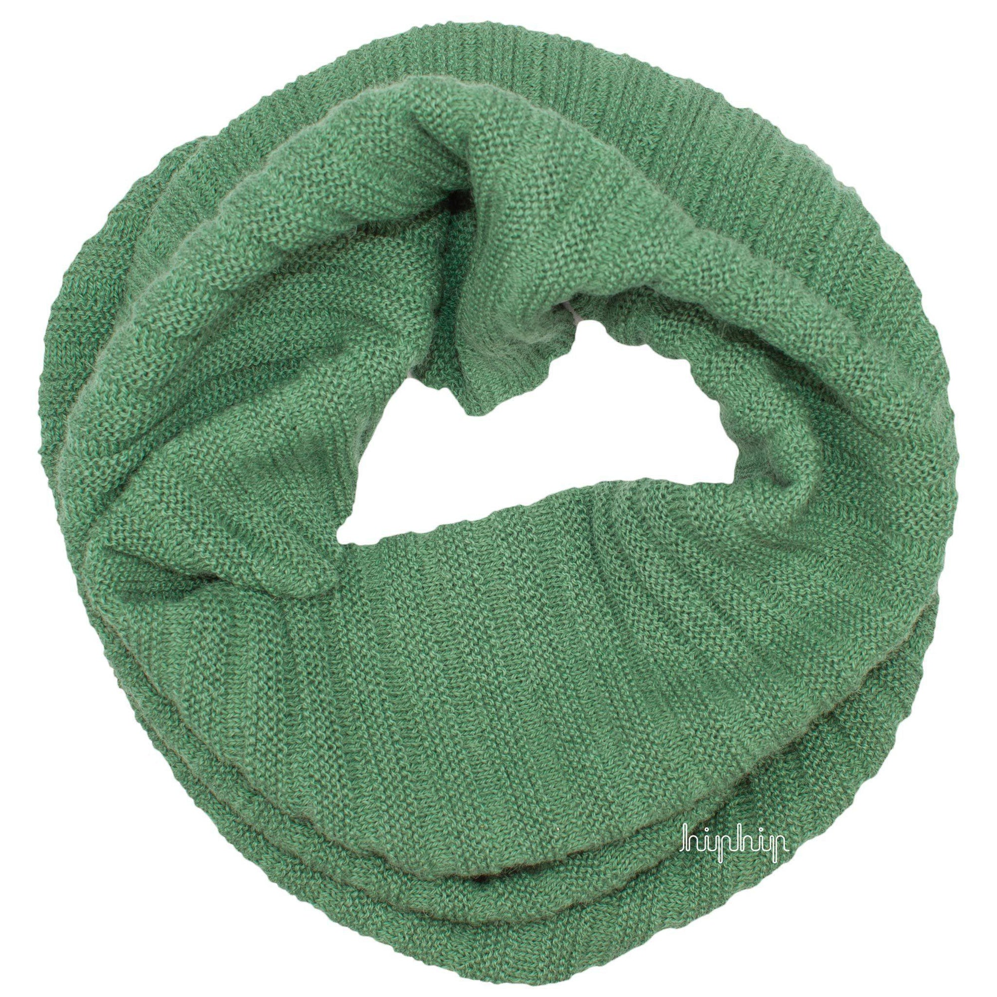 Fular adulti (buff) De Colores baby alpaca - Apple Green-De Colores-HipHip.ro