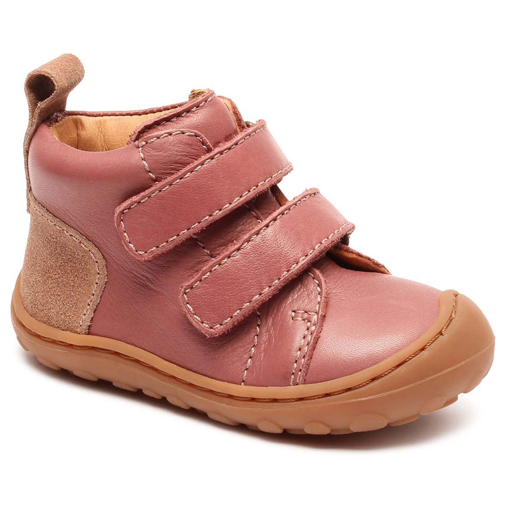 Ghete First Step Bisgaard piele - Umo Misty Rose-Bisgaard-HipHip.ro