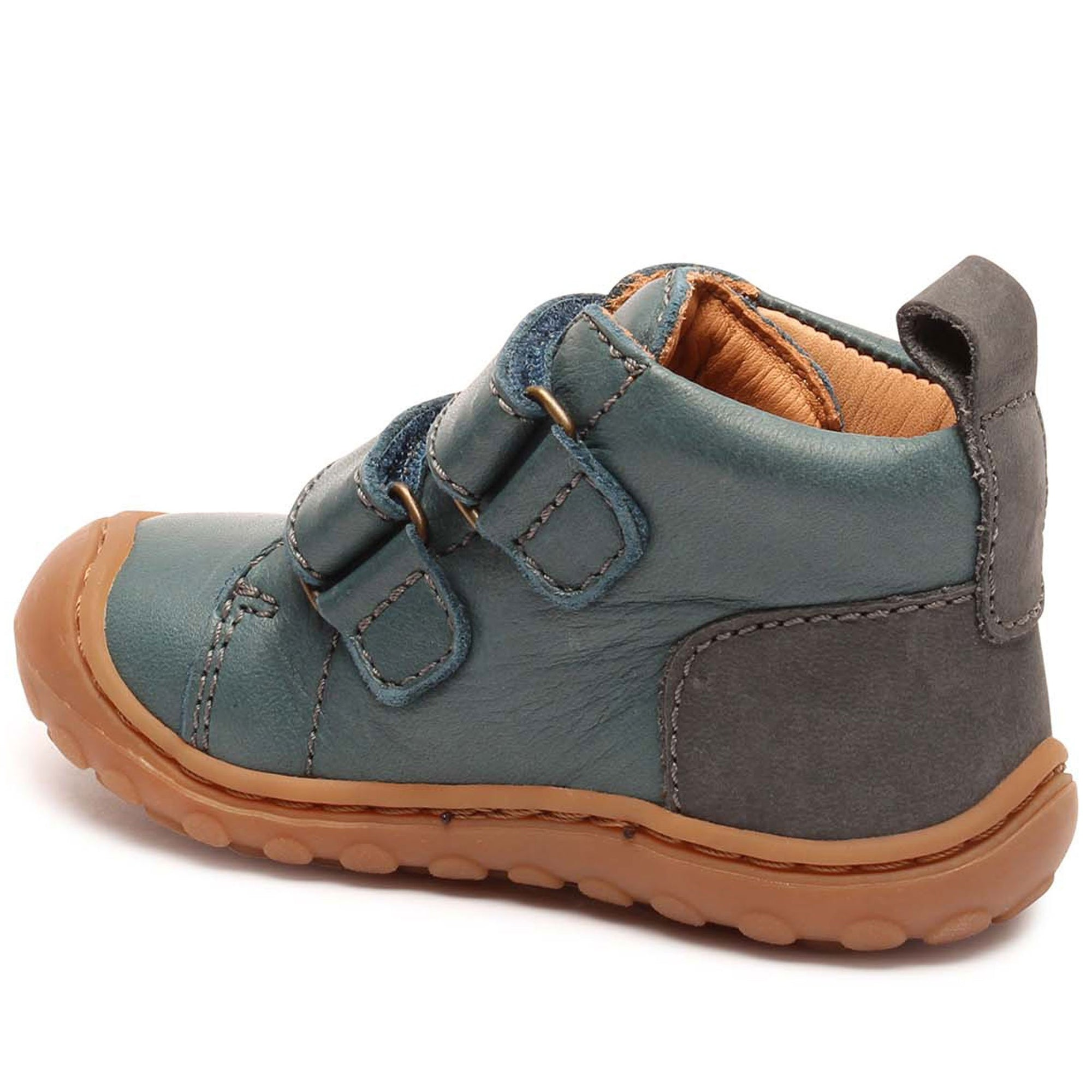 Ghete First Step Bisgaard piele - Umo Teal-Bisgaard-HipHip.ro