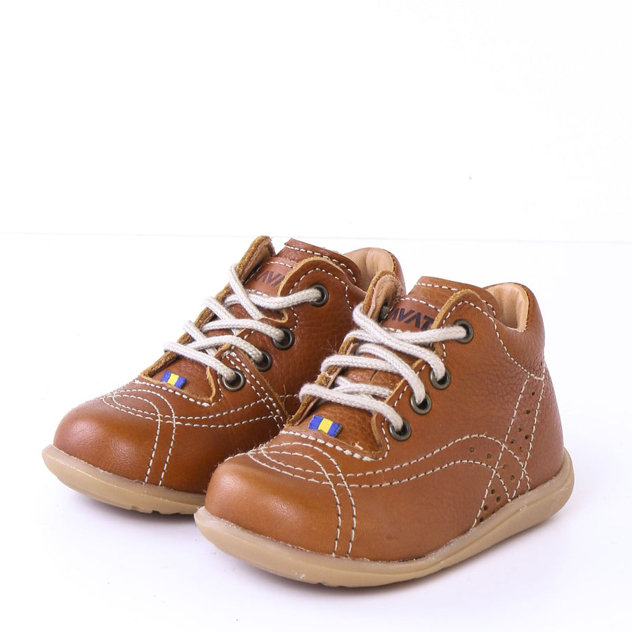 Sneaker Kavat piele - Edsbro Light Brown-Kavat-HipHip.ro