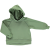 Hoodie Poudre Organic din fleece bumbac organic - Citron Oil Green-Poudre Organic-HipHip.ro