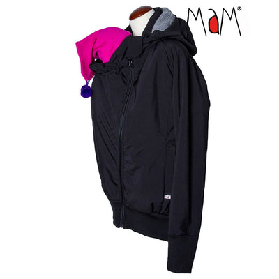 Jacheta MaM SoftShell Black/Rock Grey (mar XL)-MaM-HipHip.ro