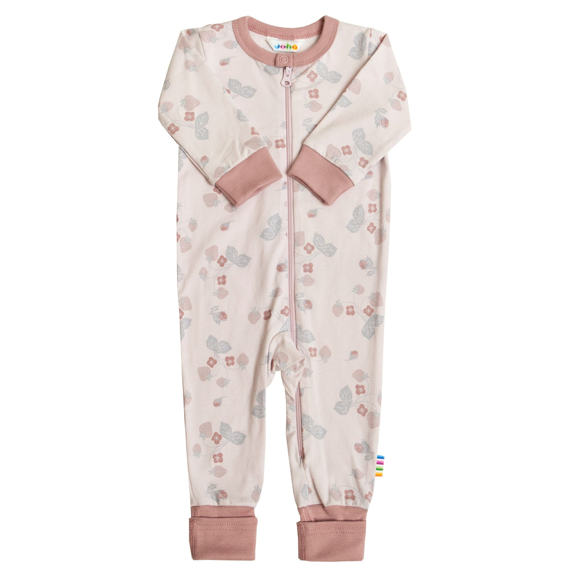 Jumpsuit Joha bumbac - Strawberry-Joha-HipHip.ro