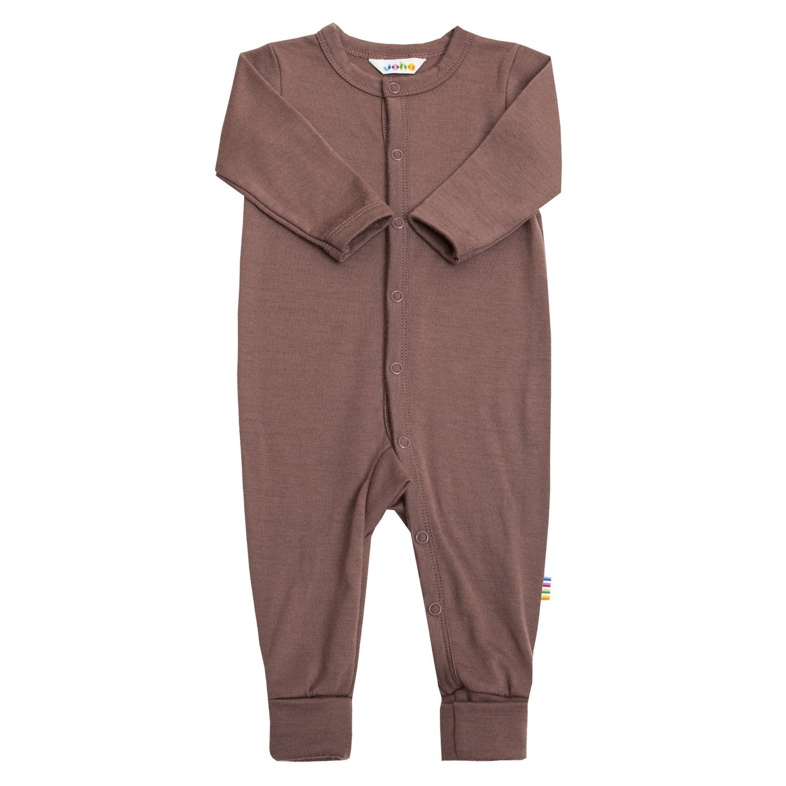 Jumpsuit Joha lână merinos - Heavy Single Deep Purple-Joha-HipHip.ro