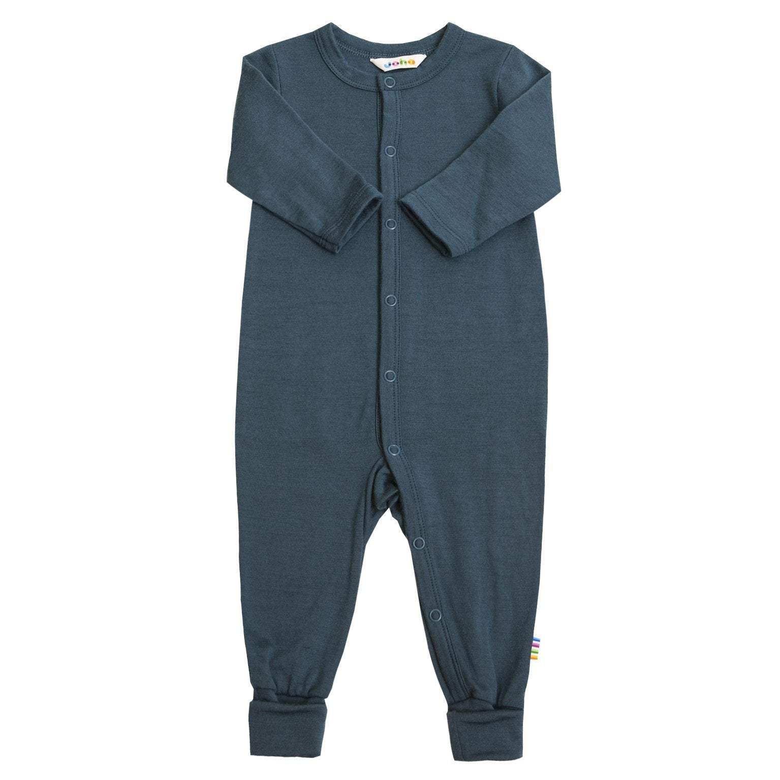 Jumpsuit Joha lână merinos - Heavy Single Storm Navy-Joha-HipHip.ro