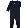 Jumpsuit Joha lână merinos - Heavy Single Wool Navy-Joha-HipHip.ro