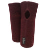Mansete femei Mufflon boiled wool W100 - Handy Bordeaux-Mufflon-HipHip.ro