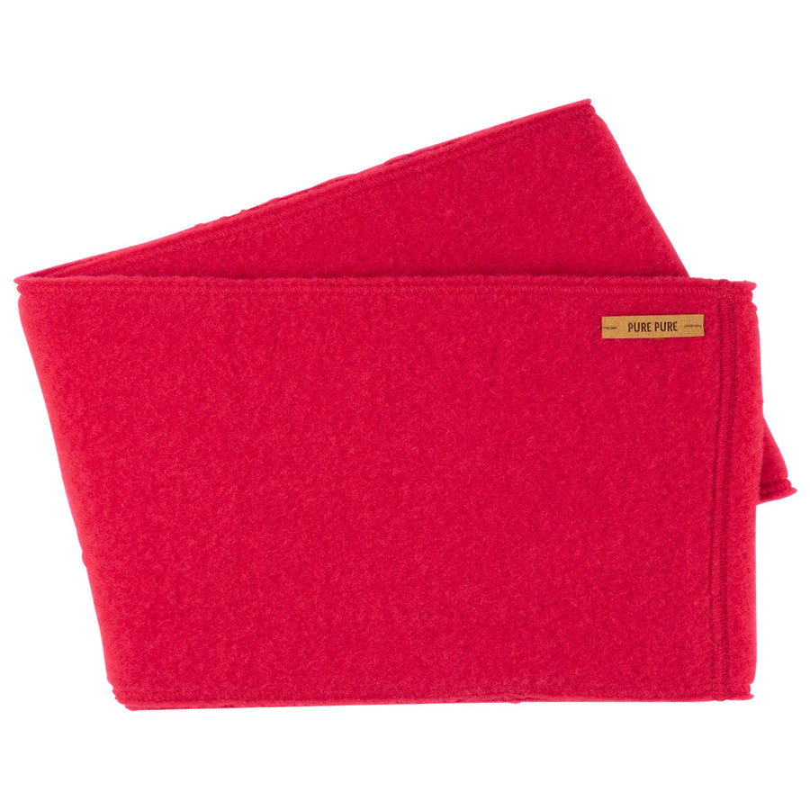 Neckwarmer (buff) Pure Pure fleece lână organica - Raspberry-Pure Pure-HipHip.ro