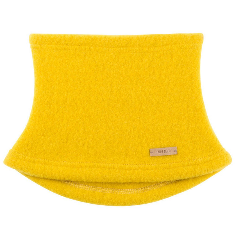 Neckwarmer Pure Pure fleece lână organica - Lemon Curry-Pure Pure-HipHip.ro