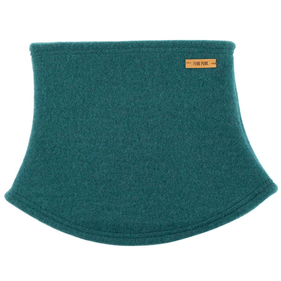 Neckwarmer Pure Pure fleece lână organica - Smoke Green-Pure Pure-HipHip.ro