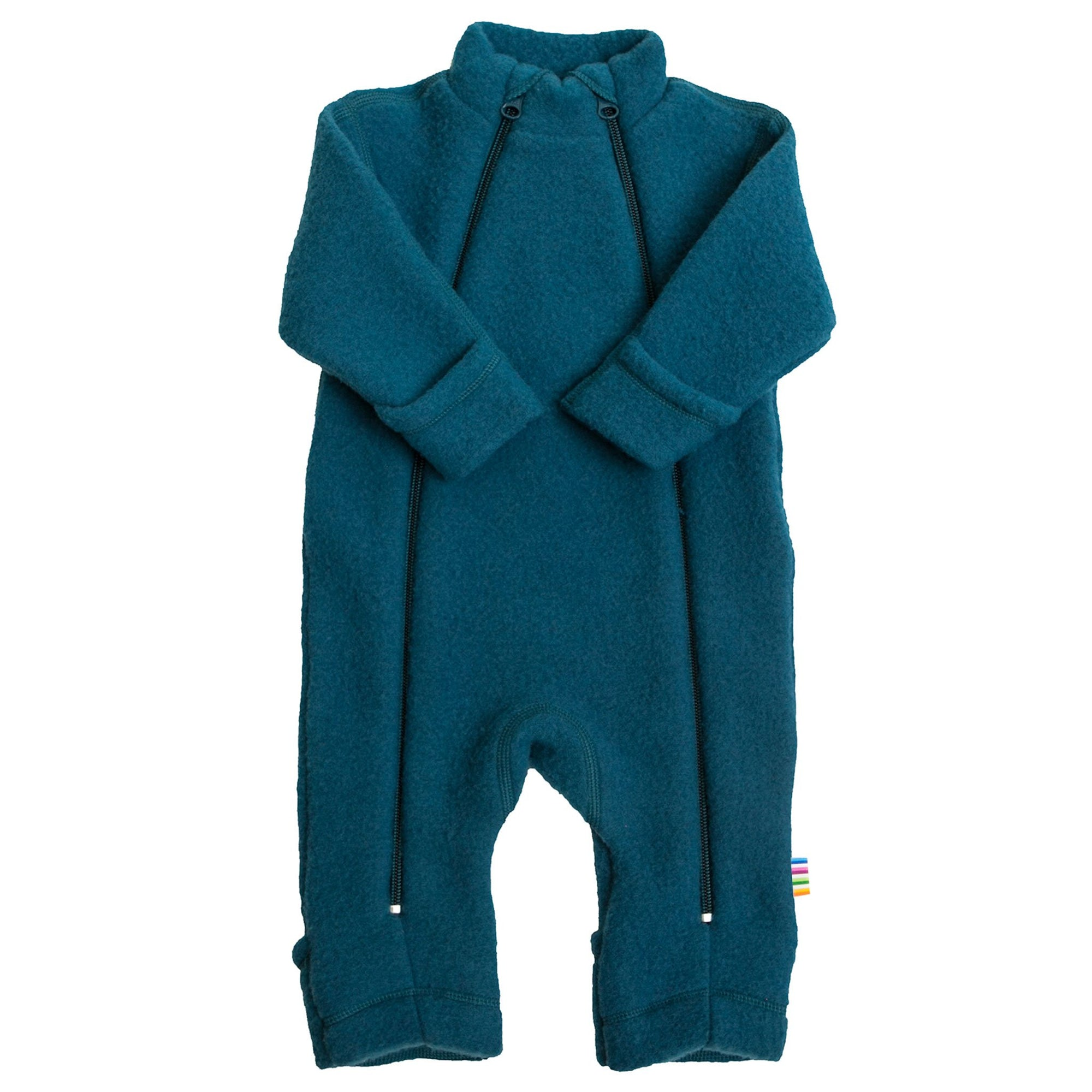 Overall Joha fleece lână merinos - Atlantic Blue-Joha-HipHip.ro