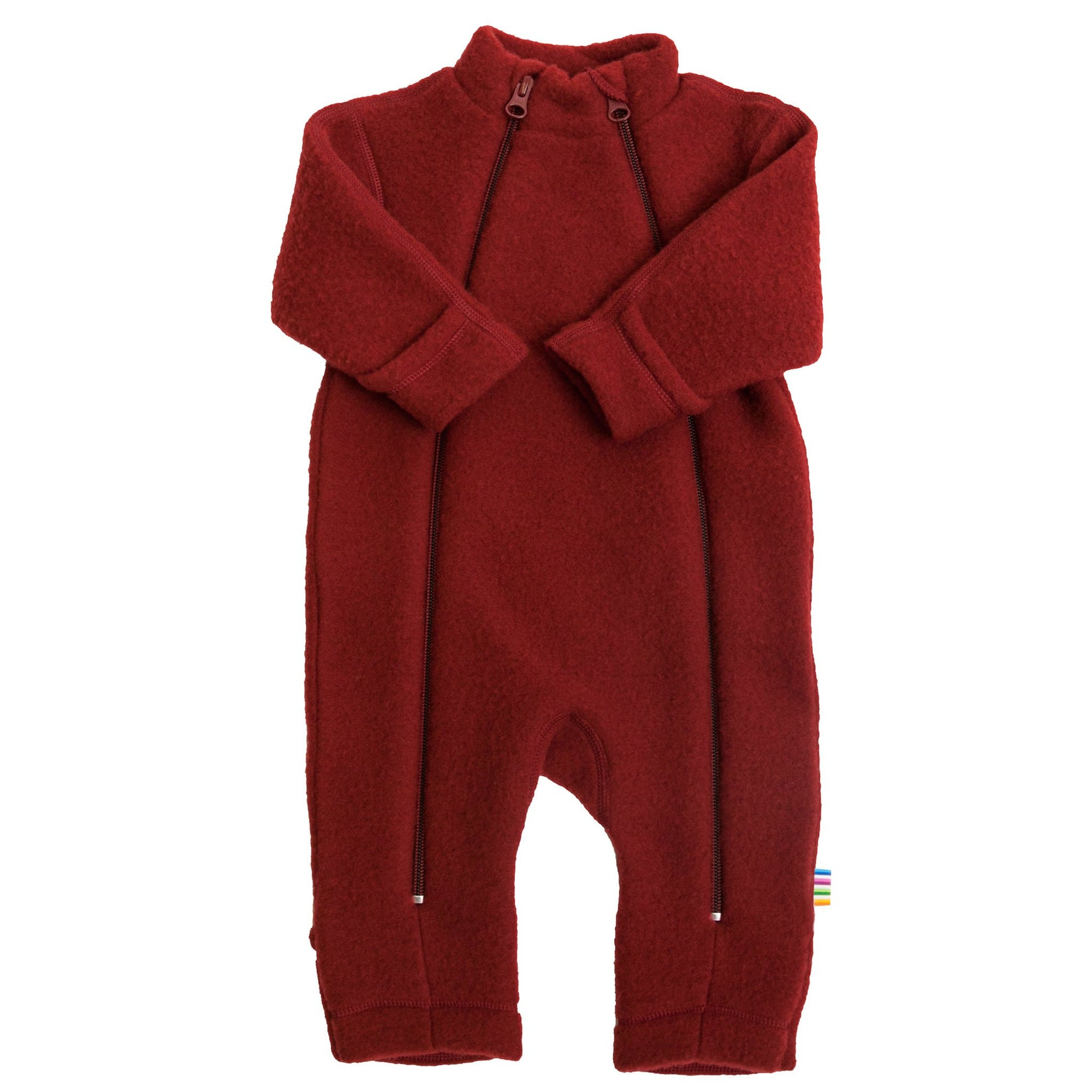 Overall Joha fleece lână merinos - Crimson Red-Joha-HipHip.ro