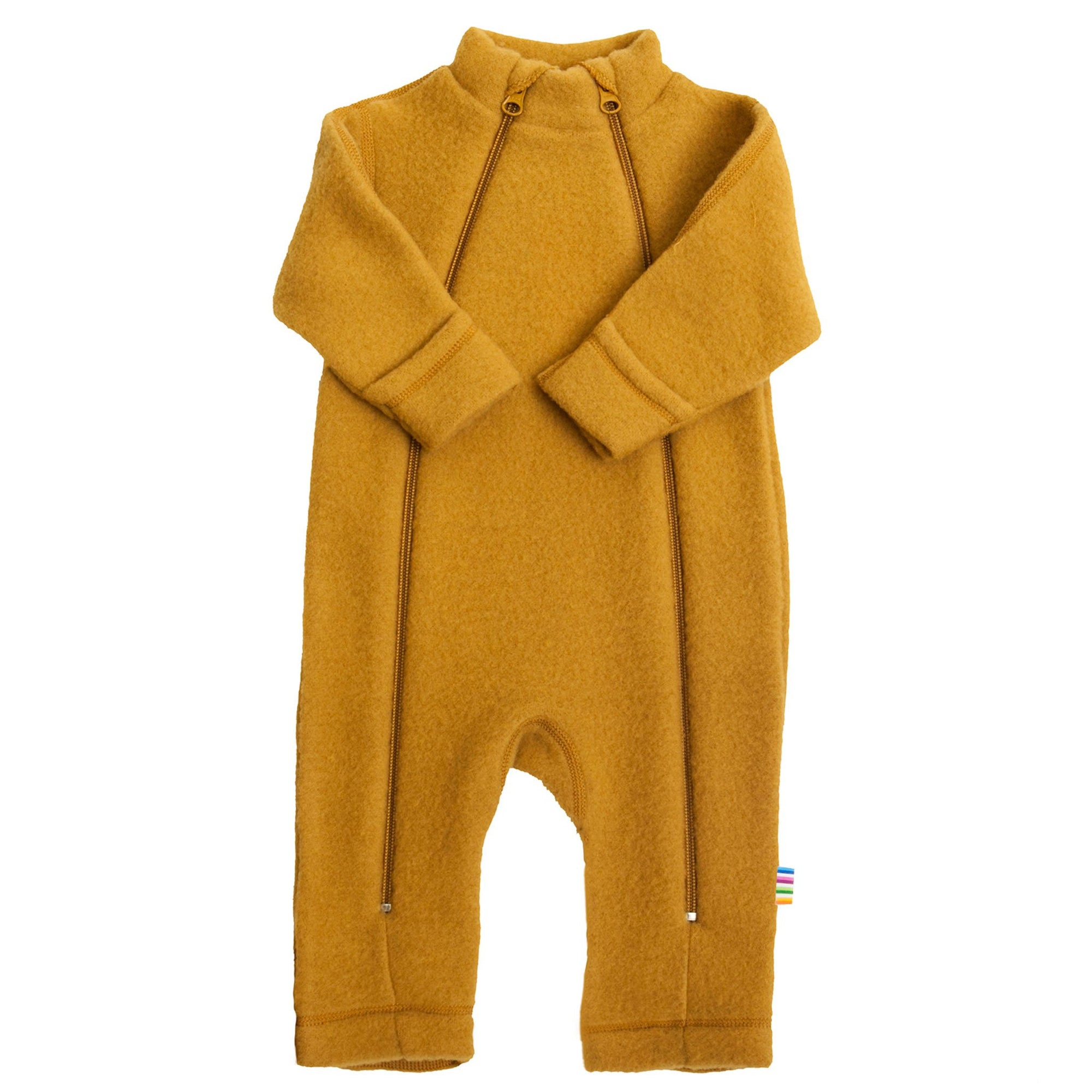 Overall Joha fleece lână merinos - Curry Yellow-Joha-HipHip.ro