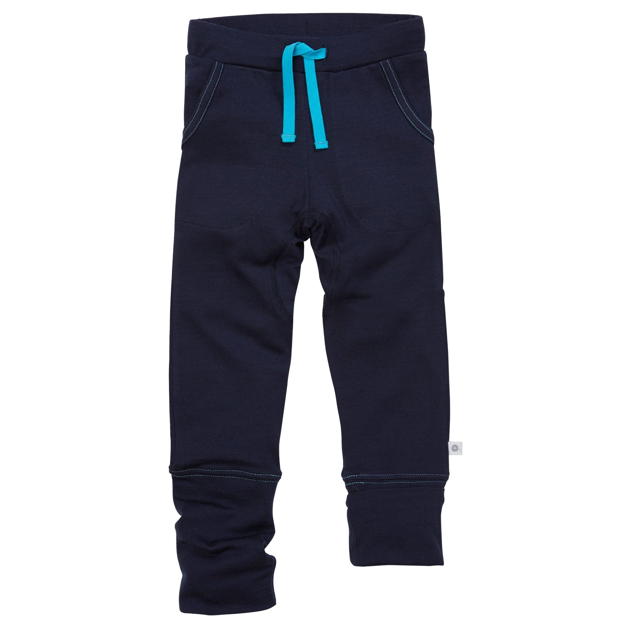 Pantaloni Smalls lână merinos extra fina - 24-hours French Navy-Smalls-HipHip.ro